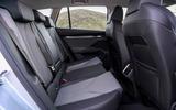 11 Skoda Enyaq 2021 UK FD rear seats