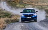 Skoda Kodiaq vRS 2018 first drive review - offroad track