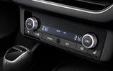 Skoda Scala 2019 first drive review - climate controls