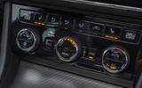 Skoda Superb Estate Sportline 2020 UK first drive review - climate controls