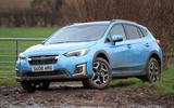 Subaru XV e-Boxer 2020 UK first drive review - static