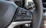 Suzuki Ignis hybrid 2020 UK first drive review - steering wheel buttons