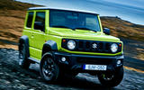 Suzuki Jimny 2018 first drive review off-road front