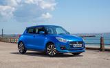 Suzuki Swift Attitude 2019 UK first drive review - static front