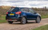 Suzuki SX4 S-Cross Hybrid 2020 UK first drive review - static rear