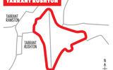 Tarrant Rushton map