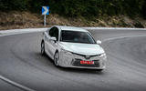 Toyota Camry 2019 first drive review cornering front