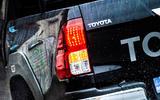 Toyota Hilux Invincible 50 2019 first drive review - taillights