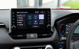 11 Toyota RAV4 PHEV 2021 UK first drive review infotainment