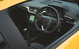 Vauxhall Corsa GSi 2018 UK first drive review dashboard