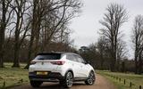 Vauxhall Grandland X 1.5 Turbo D 2018 first drive review - static rear