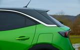 11 Vauxhall Mokka e 2021 UK first drive review  Vauxhall Mokka e 2021 UK first drive review rear end