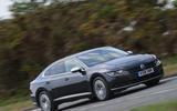 Volkswagen Arteon 1.5 EVO 2018 UK review on the road front
