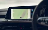 11 Volkswagen Golf GTD 2021 UK first drive review infotainment
