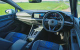 11 Volkswagen Golf R 2021 UK first drive review dashboard