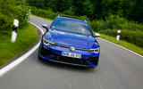 11 Volkswagen Golf R Estate 2021 first drive tracking nose