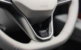 Volkswagen ID 3 2020 UK first drive review - steering wheel