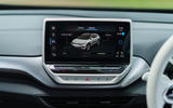 11 Volkswagen ID 4 2021 UK first drive review infotainment