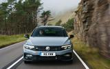 Volkswagen passat Estate R Line 2019 UK review - on the road nose