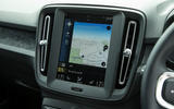 Volvo XC40 T3 2018 first drive review infotainment