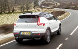 Volvo XC40 T5 2019 UK first drive review - on the road rear