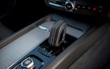 Volvo XC60 B5 2020 UK first drive review - centre console