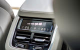Volvo XC90 B5 petrol 2020 UK first drive review - rear climate