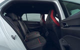 11 VW Golf GTI Clubsport 2021 UK first drive review rear seats