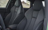 Audi RS3 Saloon front sports seats