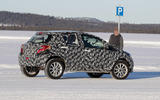 2021 Toyota small SUV prototype - cornering rear
