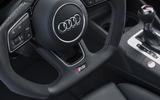 Audi RS3 Saloon flat-bottom steering wheel