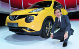 Shiro Nakamura with the Nissan Juke