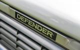 Defender hearse conversion - bonnet
