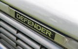 Defender hearse conversion - bonnet