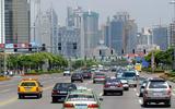 China city road