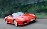Ferrari 360 - tracking front