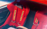 Ferrari F40 - interior