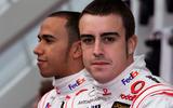 Hamilton and Alonso