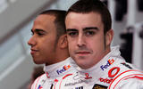 Hamilton and Alonso