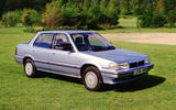 Rover 213 - stationary side