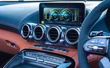 Mercedes-AMG GT R Roadster 2019 UK first drive review - infotainment