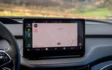 11a Skoda Enyaq 2021 LHD UK first drive infotainment