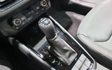 Skoda Scala official reveal stage gearstick