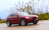 Alfa Romeo Stelvio Ti 2019 first drive review - on the road front