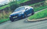 12 Alpina B8 Gran Coupe 2021 UK FD cornering front