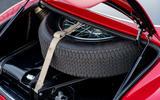 Aston Martin DB4 Zagato Continuation 2019 first drive review - spare wheel