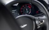 Aston Martin Vantage manual 2019 first drive review - tacho
