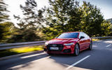 Audi A7 TFSI e 2019 first drive review - on the road front