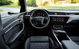 Audi E-tron S Sportback 2020 first drive review - dashboard