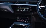 Audi E-tron Sportback 55 2020 UK first drive review - centre console
